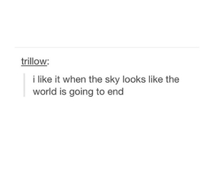 end, sky, and tumblr image