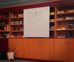 glee, cory, and rip image