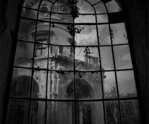 window, architecture, and castle image
