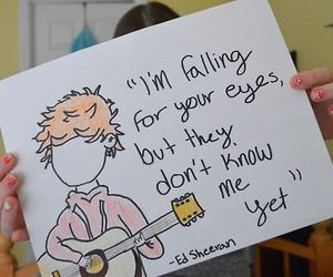 ed sheeran, quotes, and ed image