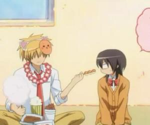 kawaii, anime couple, and misaki image