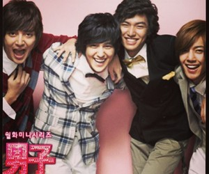 Boys Over Flowers, so yi jung, and F4 image