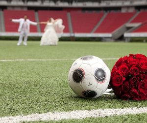love and football image