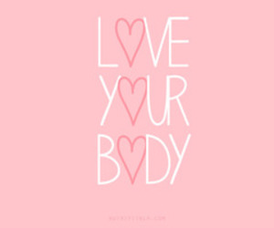 love, body, and pink image