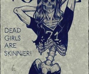 vogue, girl, and skinny image