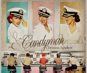 candyman, christina aguilera, and vintage image