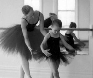 ballerina, teach, and teacher image