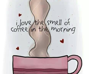 coffee, morning, and smell image