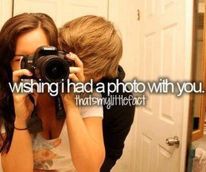 love, photo, and quote image