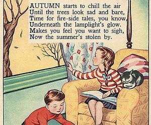 autumn, poem, and english image