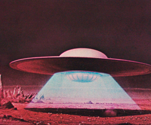 alien, ufo, and space image