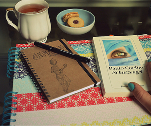 angel, book, and Cookies image