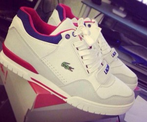 lacoste, shoes, and basket image
