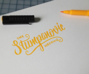 calligraphy, lettering, and typography image
