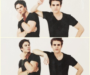 paul wesley, the vampire diaries, and damon image