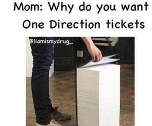 one direction, tickets, and 1d image