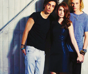lily collins, robert sheehan, and Jamie Campbell Bower image