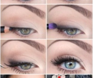 makeup, make up, and eyes image