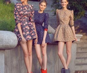 girl, dress, and model image