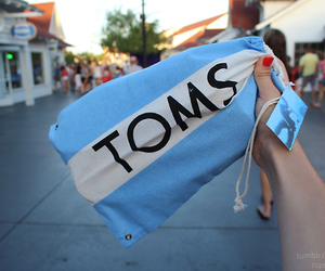 toms, blue, and photography image