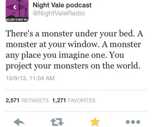 monsters, quote, and wtnv image