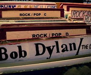 bob dylan and vinil image