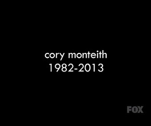glee, cory monteith, and cory image