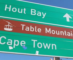 cape town, table mountain, and hout bay image