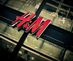 H&M, shop, and store image