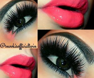 beautiful, makeup, and mascara image