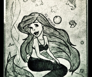ariel, art, and artist image