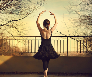 ballet and girl image
