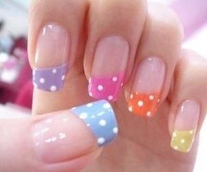nails and polka dots image