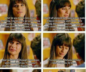 cry, gleeks, and glee image