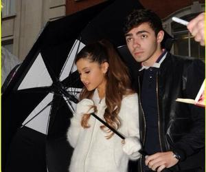 nathan, ariana, and love them image
