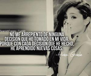 ariana grande, frases, and quote image