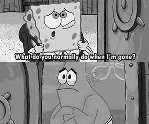 friendship, spongebob, and love image