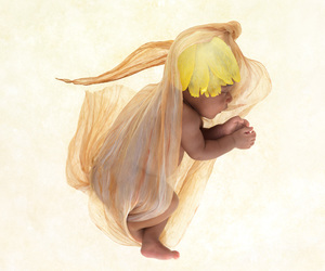 baby and anne geddes image