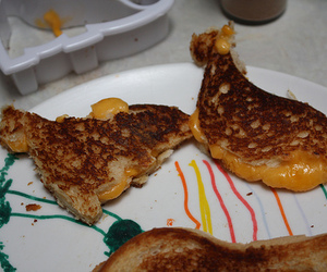 awesome, cheese, and grilled image