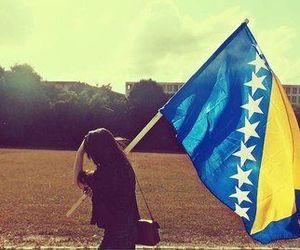 Bosnia, bosna, and flag image