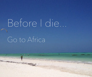 africa, beach, and before image
