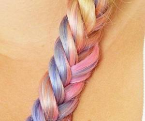 color, girly, and hair image
