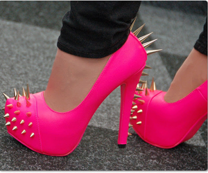 girly, shoes, and cute image