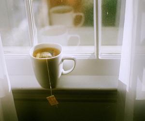 tea, vintage, and window image