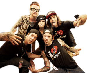 pierce the veil, sleeping with sirens, and music image