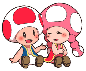 image, toad, and toadette image