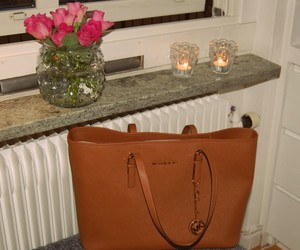 candles, bag, and Michael Kors image