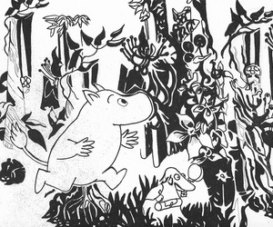 forest and moomin image