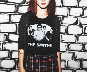 hayley williams, paramore, and the smiths image