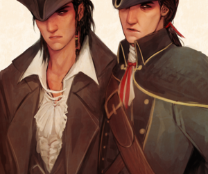 Connor, ac, and assassin's creed image